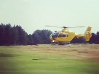 Air Ambulance called to an accident at NT Nature reserve