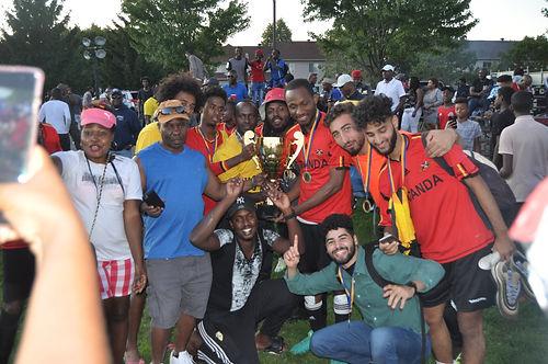 Les jeune Ougandais ont remporté la 7ème édition de la coupe Ottawa Bolides.