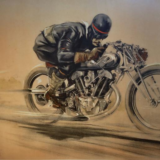 Geo Ham, le peintre de la vitesse