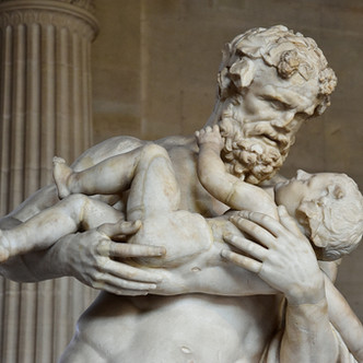 Silène portant Dionysos enfant