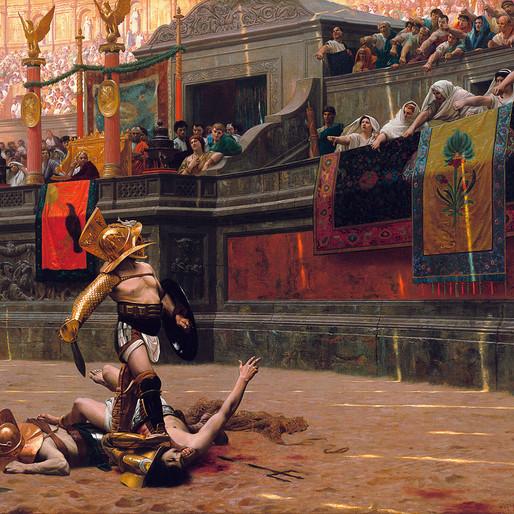 Gladiateurs, de Jean-Léon Gérôme à Ridley Scott