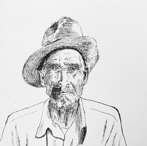 Old Man in New Mexico
