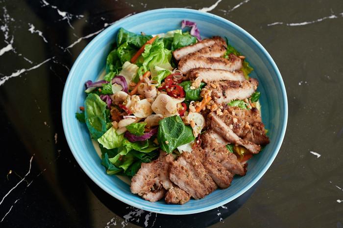 W Bistro Vietnamese Pork Neck Salad.jpg
