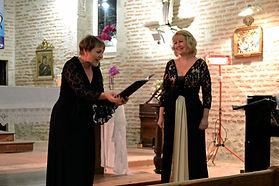Frédérique Brodard, chanteuse lyrique à Nérac (47)
