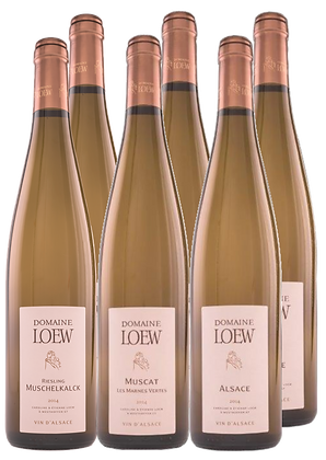 Set Loew Riesling, Muscat & Alsace   box 2×3