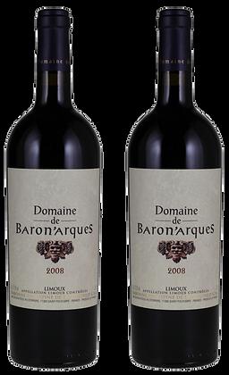 Domaine de Baronarques, Limoux, 2008   box ×2