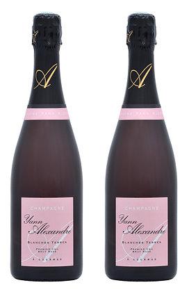 Champagne Yann Alexandre, Premier Cru Blanches Terres Rosé | box ×2