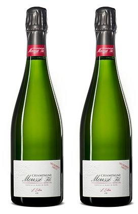Champagne Moussé  Fils, L'Extra Or Dégorgement Tardif | box ×2