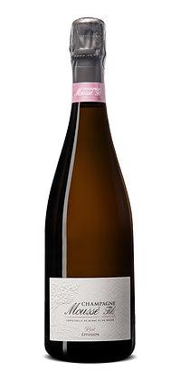 Champagne Moussé Fils, Rosé Effusion, Brut, NV
