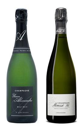 Set Champagne Brut Moussé & Yann Alexandre | box ×2