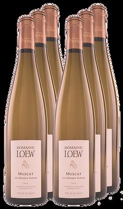 Domaine Loew, Muscat Les Marnes Vertes, AOC Alsace 2018 | box×6