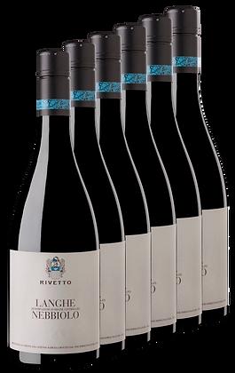 Azienda Agricola Rivetto, Langhe Nebbiolo 2018 | box ×6