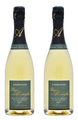 Champagne Yann Alexandre, Blanc de Blancs 2012 | box ×2