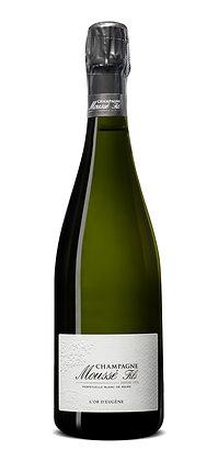 Champagne Moussé Fils, L'Or d'Eugene, Brut, NV