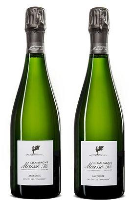 Champagne Moussé Fils, Anecdote, Blanc de Blancs | box 2 Fl/Btl
