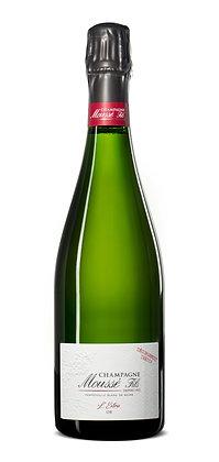 Champagne Moussé  Fils, L'Extra Or Dégorgement Tardif, Extra Brut, NV