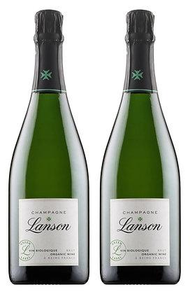 Champagne Lanson, Green Label, Brut NV | box ×2