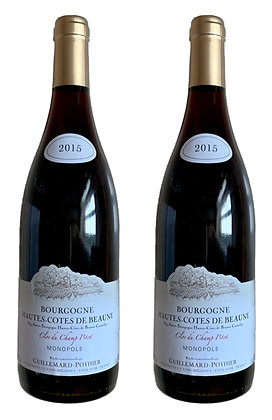 Guillemard-Pothier, Hautes-Côtes de Beaune Monopole Champ Pitot 2015 | box ×2