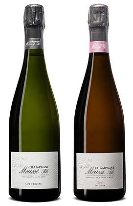 Set Champagne Moussé Mix #1 | box ×2