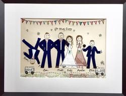 cartwheel wedding