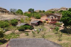 Club house et bungalow