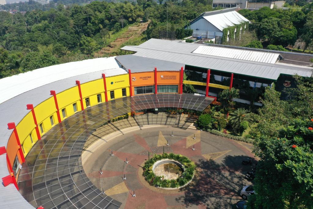 building-aerial-photo