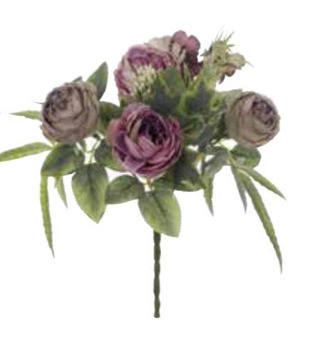 Garden Flowers - Bouquet assortito prugna