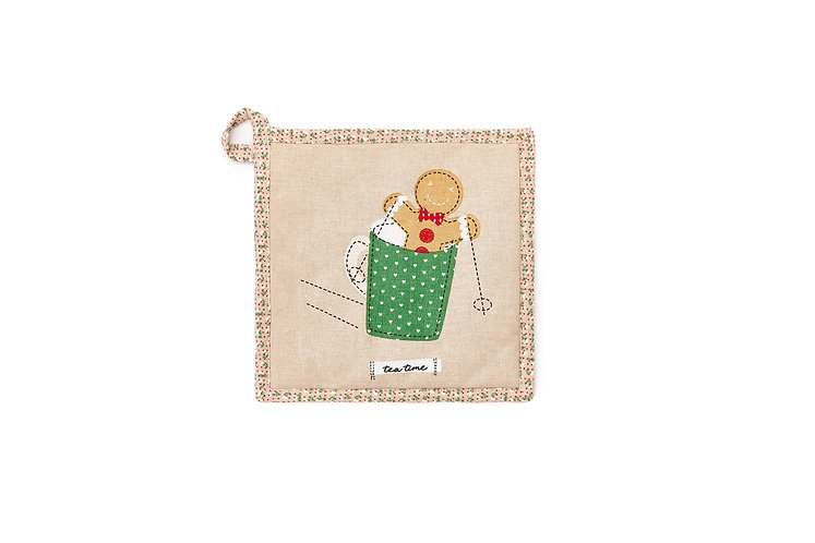 Tea Time - Presina Ginger Bread 20x20