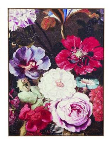 Quadri Blanc - Quadro fiori assortiti cm. 61x81