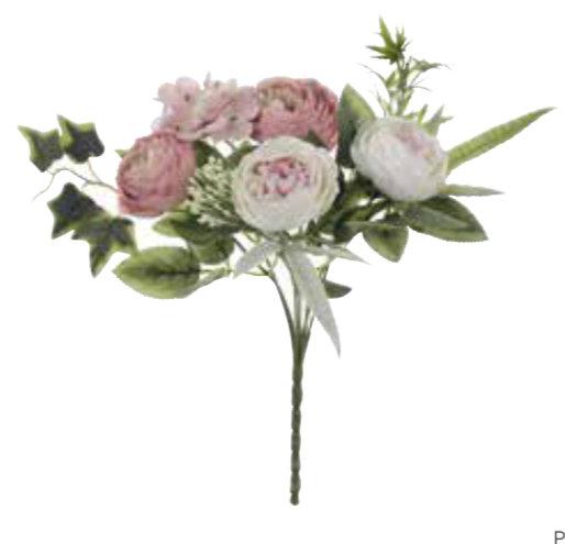 Garden Flowers - Bouquet assortito rosa