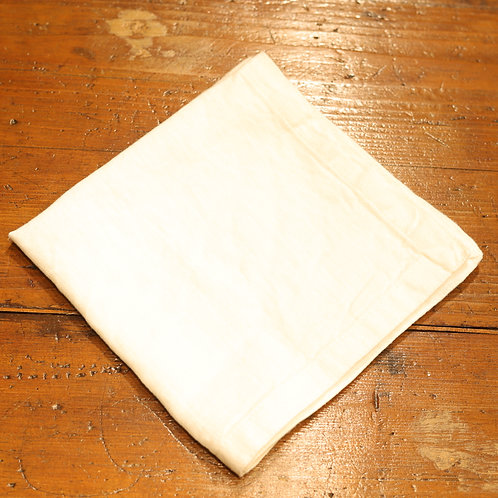 Pan di Lino - Tovagliolo color bianco 40x40