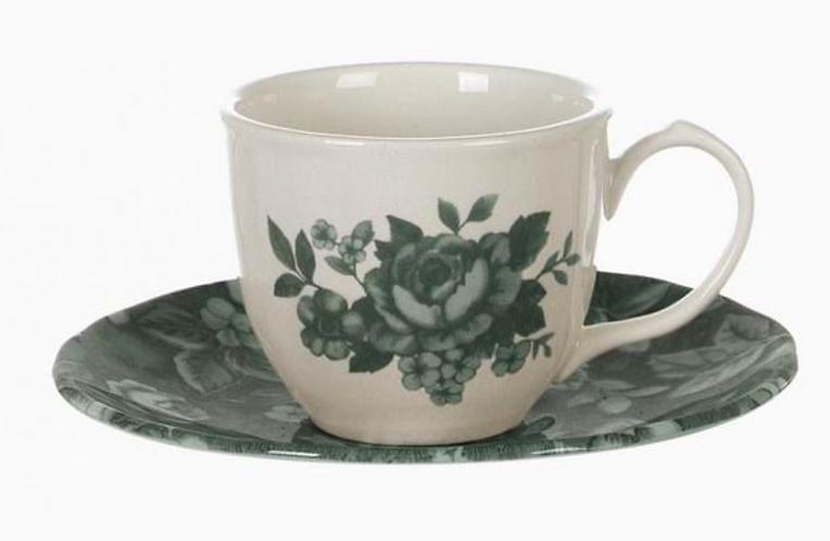 Splendor Verde - Tazzina caffè con piattino 90ml