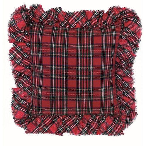 Vischio - Cuscino quadrato tartan