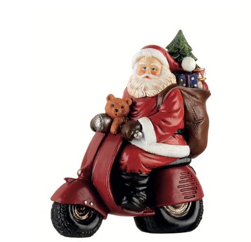 Santa Claus - Babbo Natale con scooter 18h