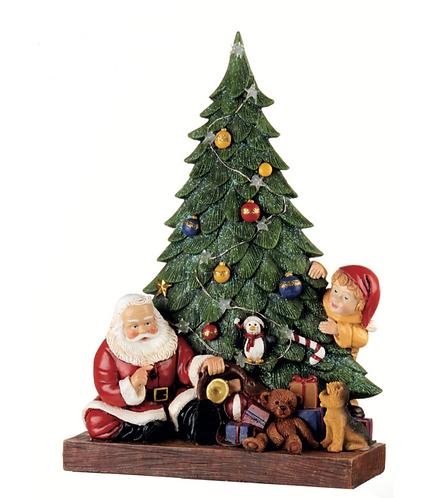 Santa Claus - Albero di Natale con led 34h