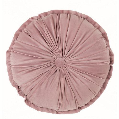 Le Chic - Cuscino tondo velluto rosa