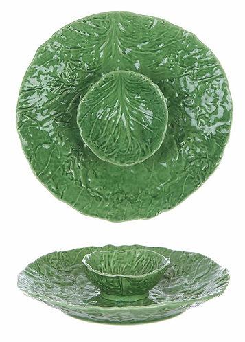 Le Pàques Gourmand - Vassoio con coppetta verde