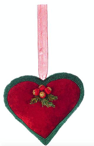 Natale - Cuore rosso e verde 20h