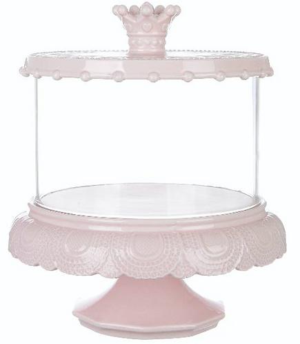 Le Petit Gourmand - Alzatina con coperchio rosa