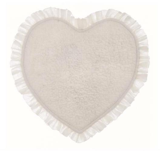 Tiepolo - Tovaglietta cuore bianca