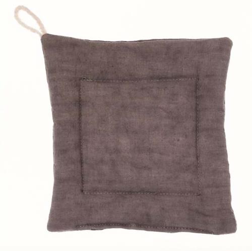 Washed Linen - Presina tortora 18x18
