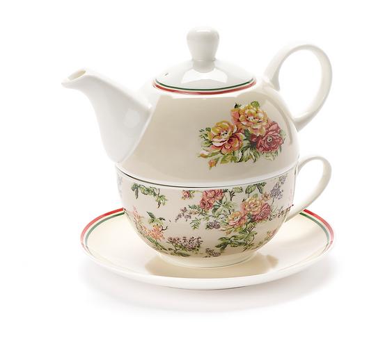 Emily - Set tazza, teiera e piattino