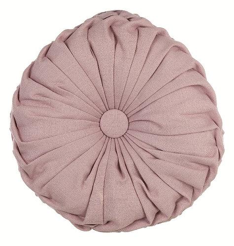 Pastel - Cuscino tondo rosa