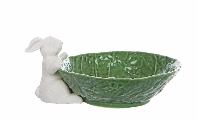 Le Pàques Gourmand - Ciotola verde con coniglio