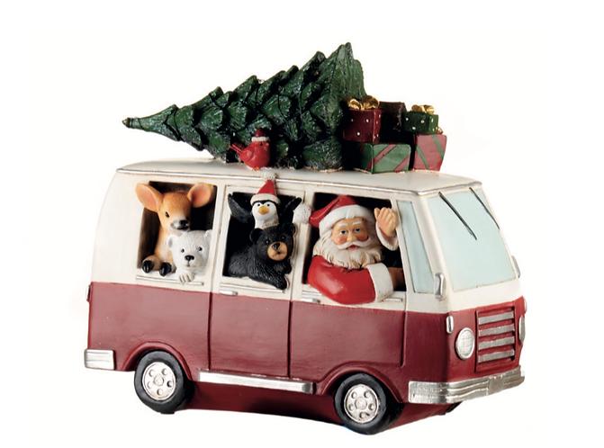 Santa Claus - Pulmino con led 27h
