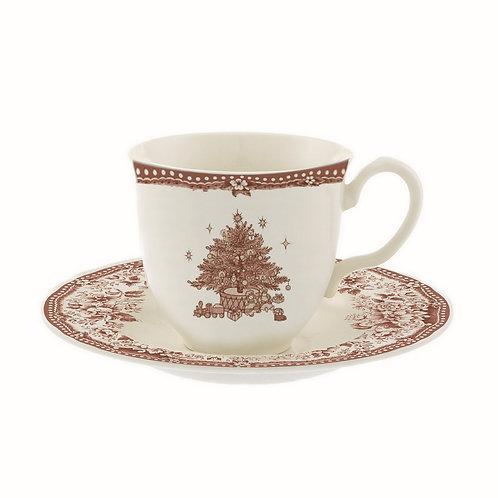 Diana Rose - Tazza tè con piattino 240 ml