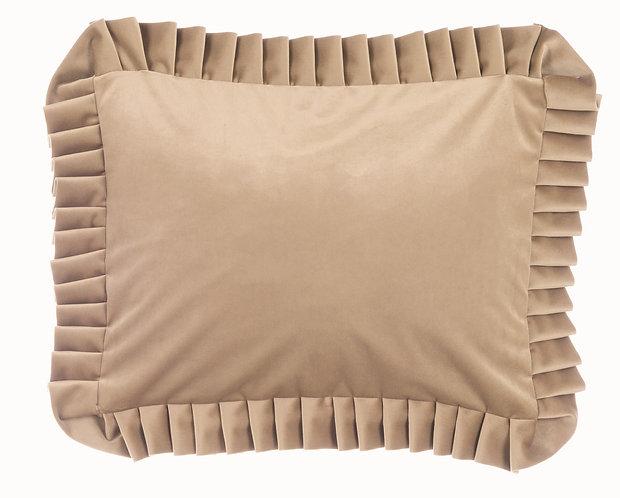 Velvet - Cuscino 35x45 Fango