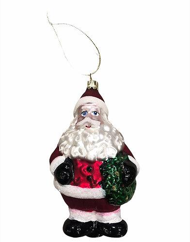 Santa's - Babbo Natale vetro 15h.
