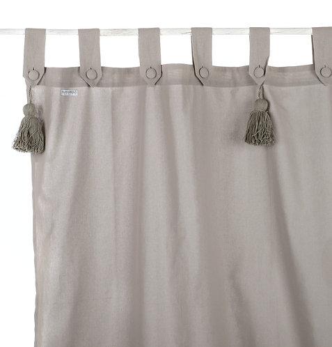 Infinity - Tenda grigio chiaro 150x300