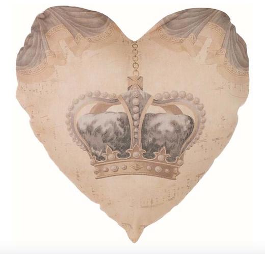 Devota Crown - Cuscino cuore 60x60